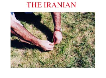 THE IRANIAN: Issue No. 9, February/March 1997 Cover
