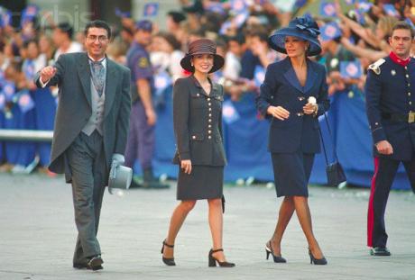 Royal Curtsy Iran S Royal Family At Spain S Crown Prince
