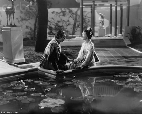 mon cinema gary cooper seduces the future queen of persia 1938. Black Bedroom Furniture Sets. Home Design Ideas