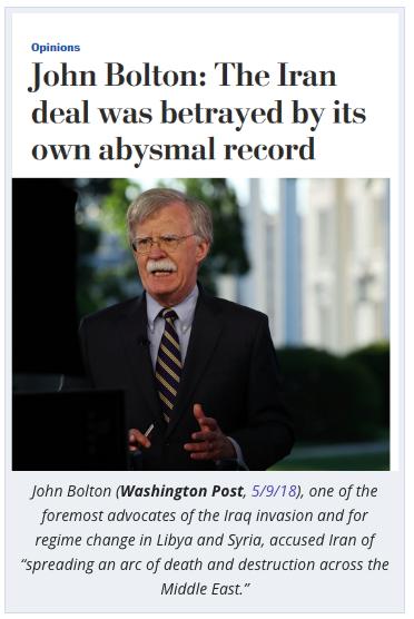 Washington Post anti-Iranian media