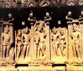 Pallava Court Scene at Mahabalipuram, 7th century AD