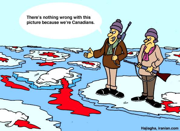 Iranian Com Satire Cartoon