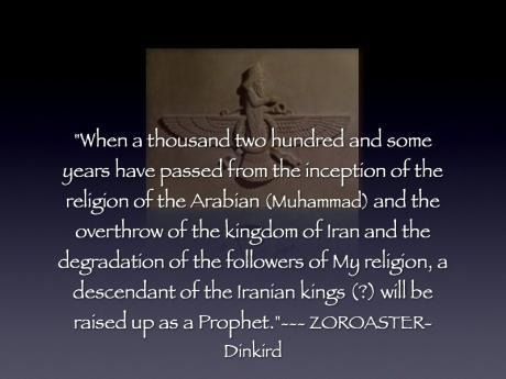 Zoroaster Quotes Zoroastrian Prophecies...