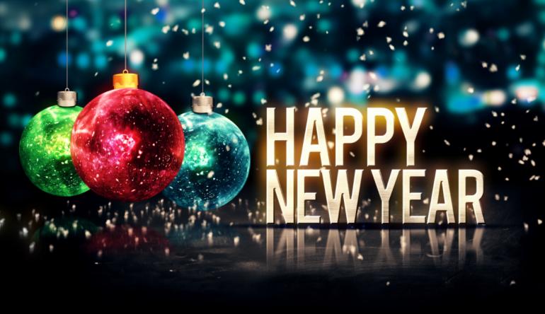 happy new year, happy life