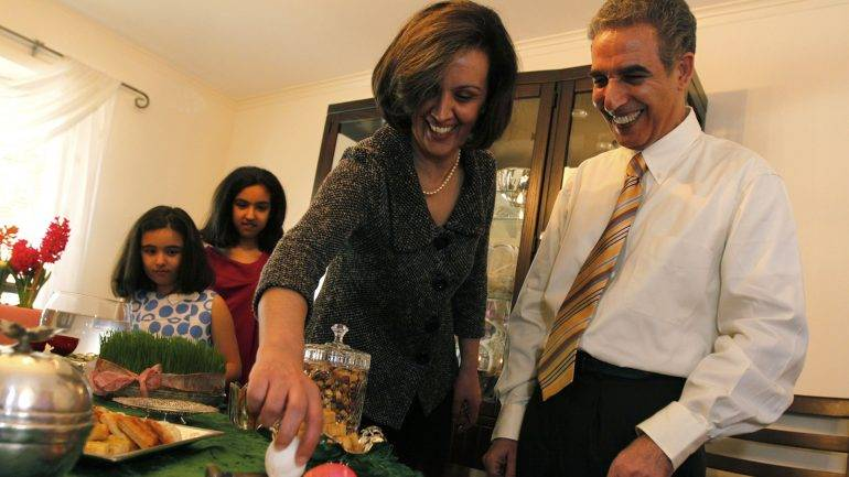 The Building of Iranian Americans' Identity in Diaspora