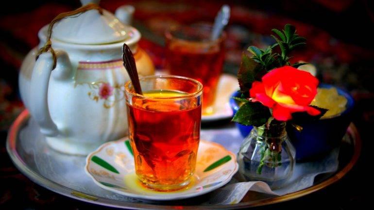 Iranian chai