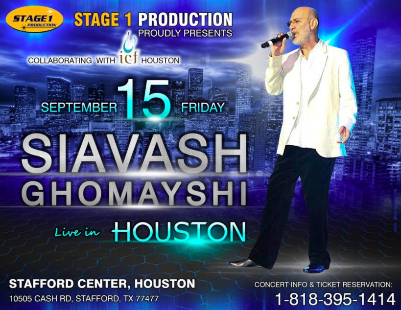 Siavash Ghomayshi Live in Houston