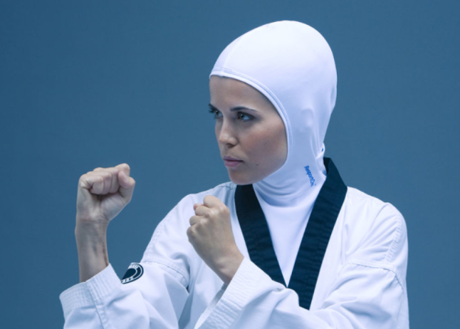 Muslim women sports in Hijab