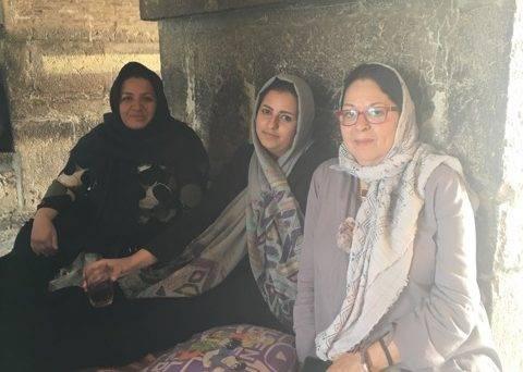 Fariba Amini in Isfahan