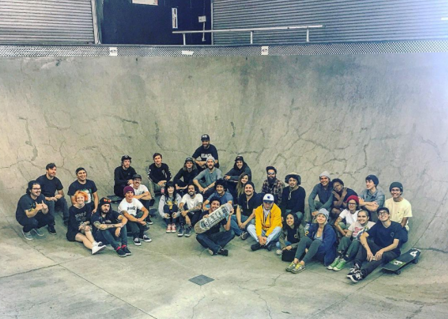 Pizzanista team skate day!
