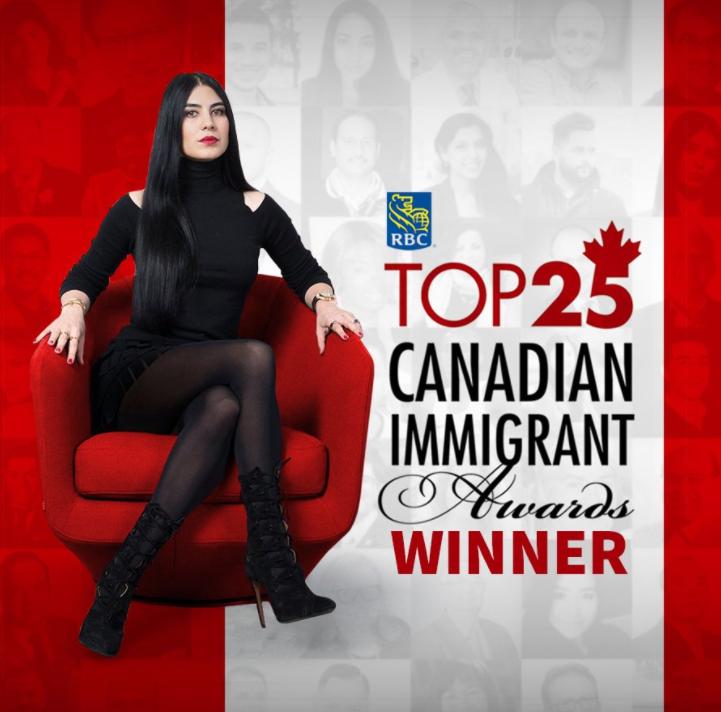 Shahrzad Rafati, 2017 RBC Top 25 Canadian Immigrant Award winner