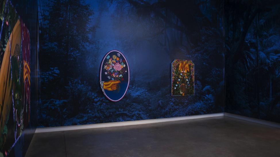 Amir H. Fallah art exhibit