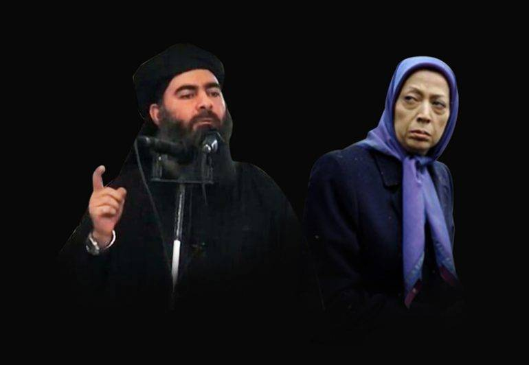MEK and ISIS Tehran Iran Terror