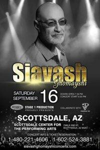 Siavash Ghomayshi Live in Scottsdale, Arizona