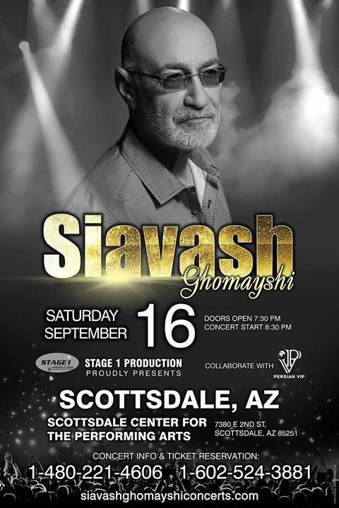 Siavash Ghomayshi Live in Scottsdale, Arizona