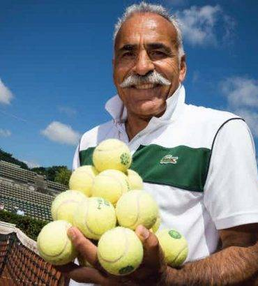 Iranian Tennis Legend Mansour Bahrami Is Getting A Movie Biopic