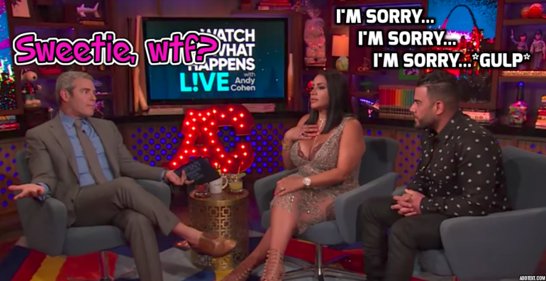Andy Cohen Destroys 'Shahs of Sunset' Star Mike Shouhed For Cursing