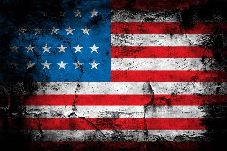 US Empire fraying and decaying
