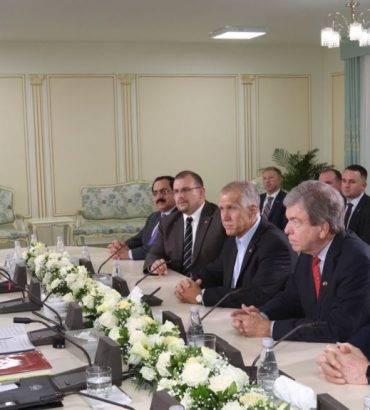 U.S. Senators Meet With Maryam Rajavi In Albania