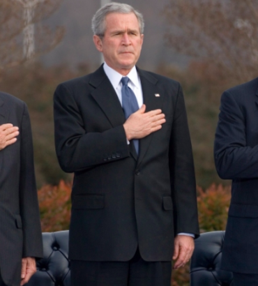 Critics Slam Establishment's Applause for 'War Criminal' George W. Bush
