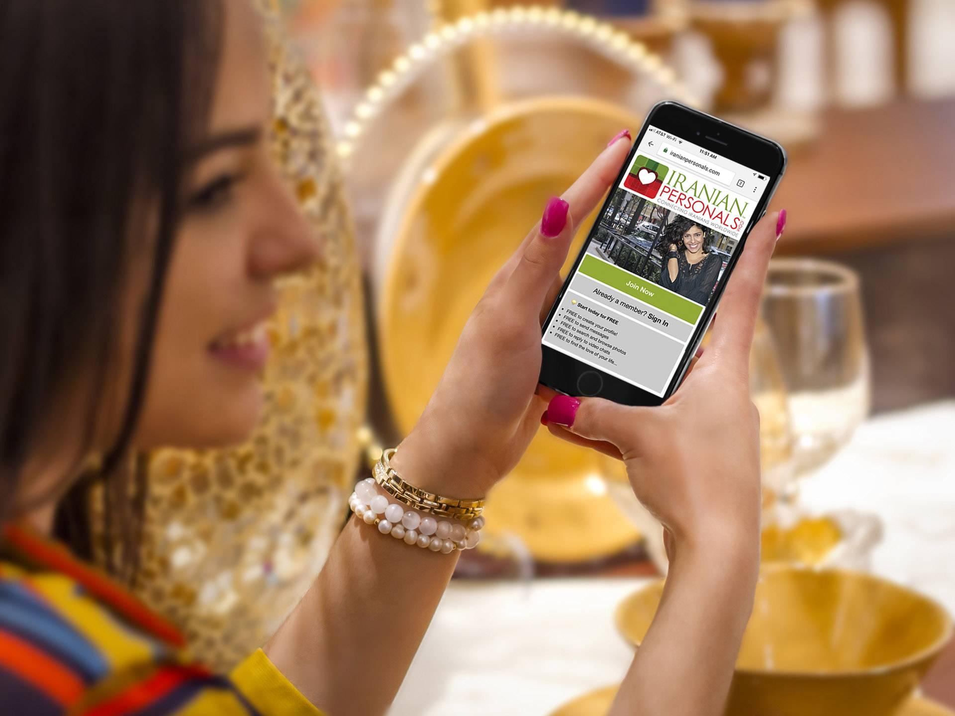 iranian singles personals