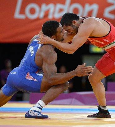 American Olympic Champion Jordan Burroughs Sympathizes With Iran Quake Victims