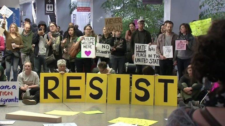 Trump Muslim Ban Protest
