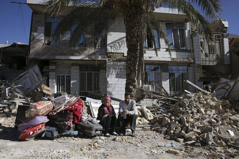 APTOPIX Iran Iraq Earthquake