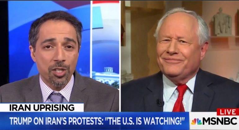 Bill Kristol and Trita Parsi discussing Iran protests