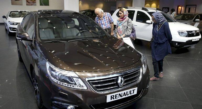 France sidesteps Iran sanctions, Renault
