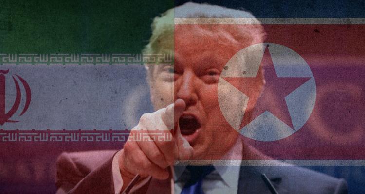 trump-iran-north-korea-750x400